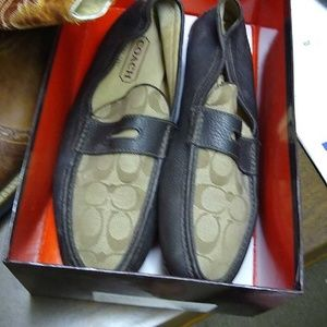 Men coach loafers